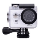 "EOSCN W9 HD 1080P Waterproof 2/3"" CMOS 12MP Sports Camera w/ 2"" LTPS LCD / 900mAh Battery - White"