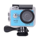 "EOSCN W9 HD1080P Waterproof 2/3"" CMOS 12MP Sports Camera w/ 2"" LTPS LCD / 900mAh Battery - Blue"