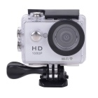 "EOSCN W9 HD1080P Waterproof 2/3"" CMOS 12MP Sports Camera w/ 2"" LTPS LCD / 900mAh Battery - Silver"