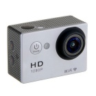 "EOSCN W9 HD 1080P Waterproof 2/3"" CMOS 12MP Sports Camera - Silver"