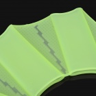 Soft Silicone Webbed Glove for Swimming - Green (Size L)