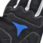 Yanho YAS366 Full-Finger Gloves for Cycling - Black + Blue(Pair / M)