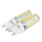 JRLED G9 5W 350lm 3300K 96-SMD 3014 LED Warm White Corn Lamps (2PCS)