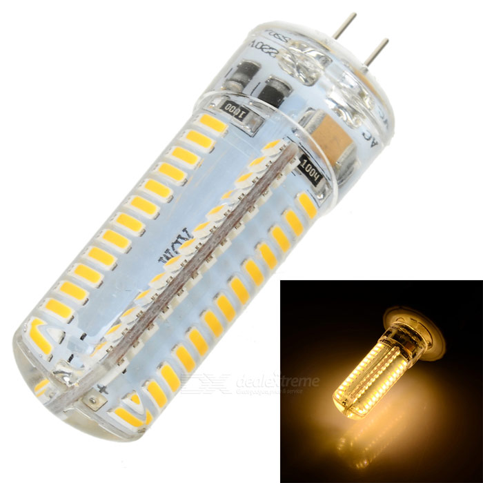 JRLED G4 7W 500lm 3300K 104-SMD 3014 LED Warm White Corn Lamp