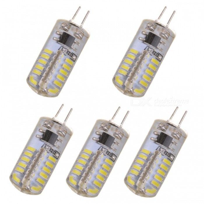 JRLED G4 3.5W LED Bluish White Light Corn Lamps (5PCS)