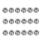 M3 Self-locking Nuts for R/C Multicopters - Silver (18 PCS)