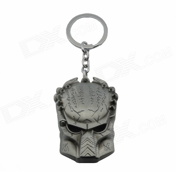 Creative Monster Mask Style Zinc Alloy Keychain - Grey + Silver