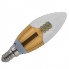AYA-E14 E14 5W Neutral White Light Candle Bulb (2PCS)