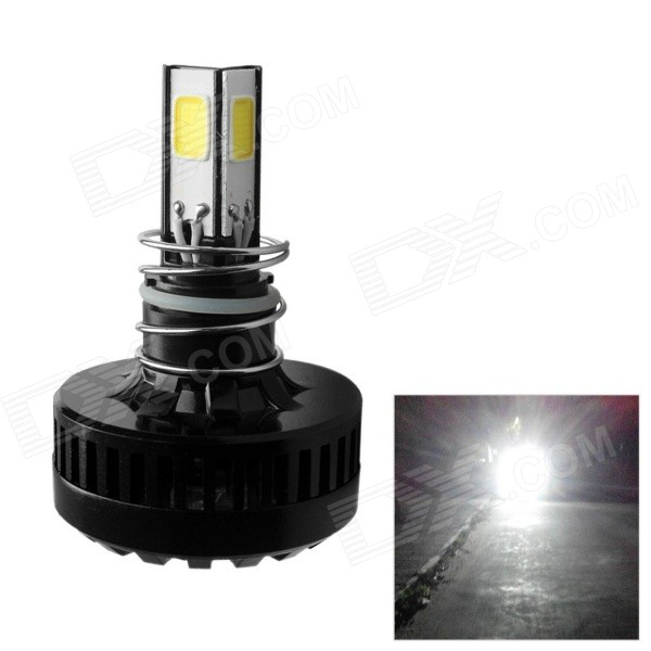 Merdia 20W 2200lm 4-LED de moto Full Beam Spotlight Phare