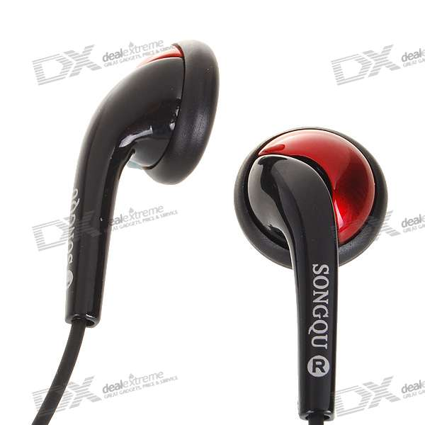 SQ-11MP Stylish Stereo Earphone (3.5mm Jack/130CM-Cable)