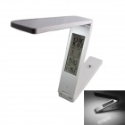 KINFIRE Ultra-slim Folding Touch Control Dimming LED Eye-protection Table Lamp - White
