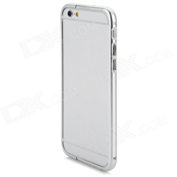 "Aluminum Alloy Bumper Frame Case w/ Holder for IPHONE 6 4.7"" - Silver"