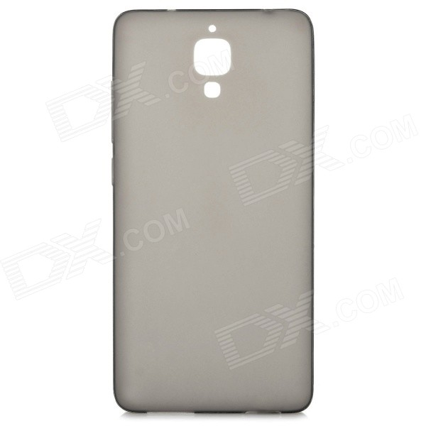 Silicone Back Case Cover + Tempered Glass Screen Guard for Xiaomi M4