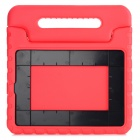 Portable Protective Plastic Case Cover w/ Handle / Stand for IPAD AIR 2 - Red