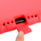 Plastic Back Case Cover w/ Handle / Stand for IPAD AIR 2 - Red