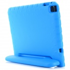 Plastic Back Case Cover w/ Handle / Stand for IPAD AIR 2 - Blue