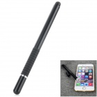 Aluminum Alloy Stylus Pen w/ Suction Cup for IPHONE / IPAD / Samsung - Black