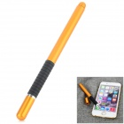 Aluminum Alloy Stylus Pen w/ Suction Cup for IPHONE / IPAD / Samsung - Black + Golden
