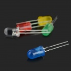 3mm + 5mm Red/Yellow/Blue/Green/White LED Diodes Kit (300PCS)