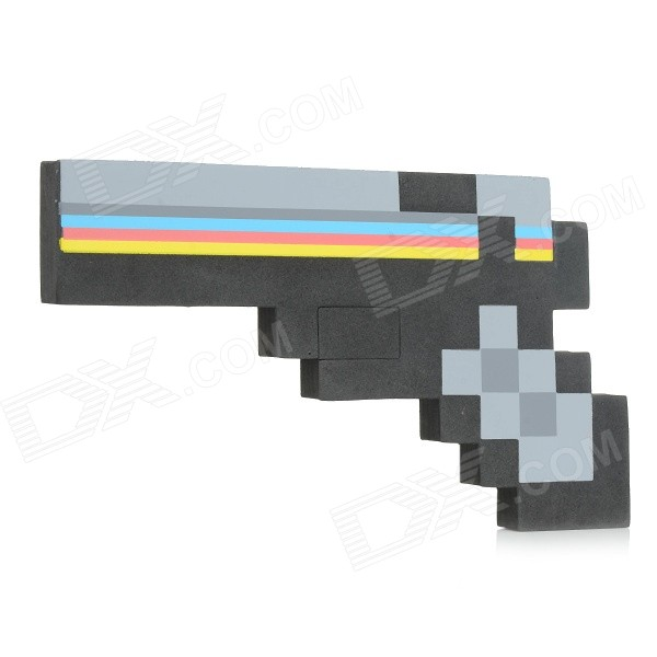 EVA Sponge Gun Toy for Children / Kids - Black