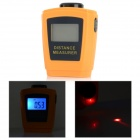 CP-3005 Ultrasonic Laser Rangefinder Distance Measurement Meter - Orange + Black (0.55~18m)