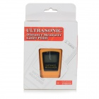 CP-3005 Ultrasonic Distance Measurement Meter w/ Laser - Orange