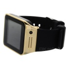 GV09 GSM Smart Watch Phone w/ 64MB RAM, 128MB ROM - Gold