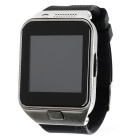"GV09 1.55"" TFT LCD GSM Smart Watch Phone w/ BT / TF / 64MB RAM / 128MB ROM for Cellphone - Black"