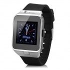 "GV09 1.55"" TFT LCD GSM Smart Watch Phone w/ BT / TF / 64MB RAM / 128MB ROM for Cellphone - Silver"