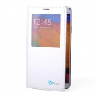 Itian PU Leather Case w/ Qi Standard Wireless Charging Receiver for Samsung Galaxy Note 3