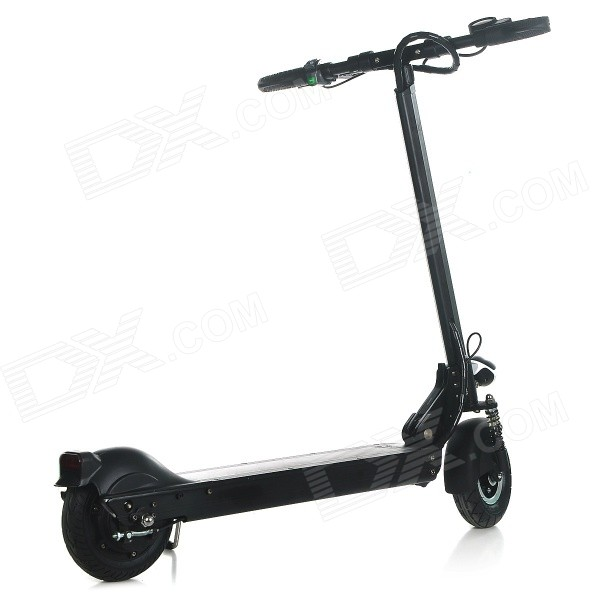 Eyu s3 fold up portable 8 electric scooter black free for Fold up scooters motorized