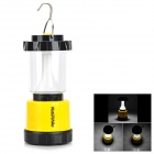NatureHike Outdoor USB Rechargeable LED Barn Lantern Lamp w/ Hook for Camping - Yellow