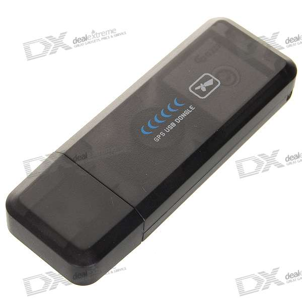ND-100S SiRF-III GPS USB Receiver Dongle for Laptop (Work with Street & Trips)