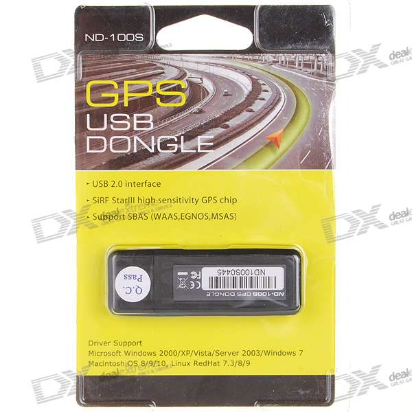 Nd S Sirf Iii Gps Usb Receiver Dongle For Laptop Work With Street Trips