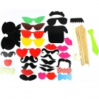 Creative Wedding Party Cosplay Accessories Set - Multicolored