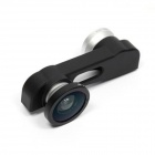 3-in-1 Clip-on Style 0.67X Wide Angle + Fisheye + Macro Lens Set for IPHONE 6 Plus - Silver