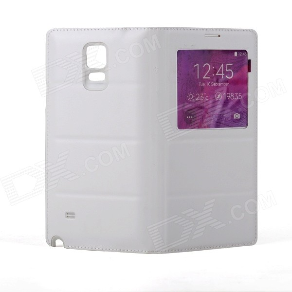 Protective Case w/Wireless Charging for Samsung Galaxy Note 4 - White