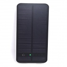 Itian Solar Powered Universal 5V 10000mAh Li-polymer Battery External Power Bank - White + Black