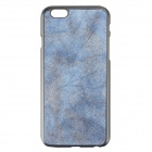 "Frosted PU Leather Case w/ Card Slot for IPHONE 6 4.7"" - Blue"