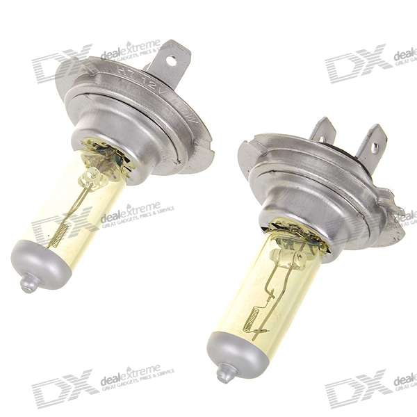 H7 100W 2800K White Car Light Bulbs (2-Pack/DC 12V)