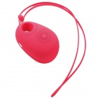 J18 Wireless Bluetooth V3.0 Speaker w/ TF / Remote Shutter - Red