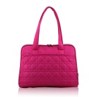 SENDIWEI S-301 Women's Fashionable Tote Bag Single Shoulder Bag for 14'' Laptop - Deep Pink