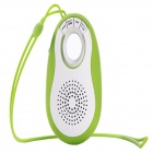 J18 Wireless Bluetooth V3.0 Speaker w/ USB 3.0 / FM / TF / Remote Shutter - Green