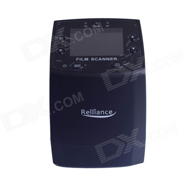 "Reliance USB 2.4"" LCD digitais 35mm filme scanner - preto"