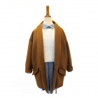 DL-51 Men's Fashionable Wool Suit Coat Jacket - Camel