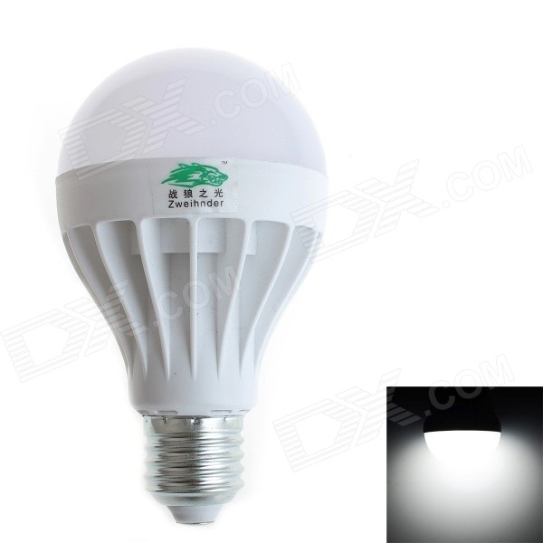 Zweihnder W029 E27 12W Neutral White Light LED Globe Bulb - White