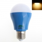 Zweihnder W052 E27 5W 450lm 3500K 16-2835 SMD LED Warm White Light Bulb - Deep Blue (AC 220~240V)