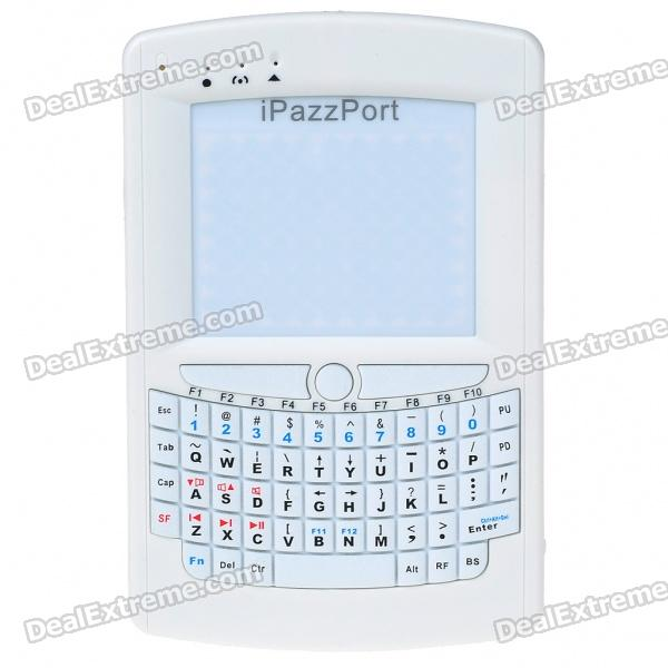 "2.4GHz Mini Bluetooth Wireless Handheld QWERTY Keyboard & 2.8"" Mouse Touchpad with Scroll Bar"