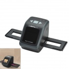 "CHEERLINK 2.4"" TFT LCD 14MB CMOS Sensor 1080P 3000dpi HD Film Scanner w/ SD Card Slot - Black"