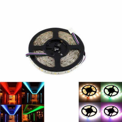 Waterproof 72W LED Strip Light RGB + Warm White 4300lm 300-5050(5M)